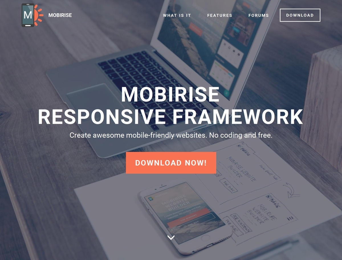 HTML5 Responsive Web Template
