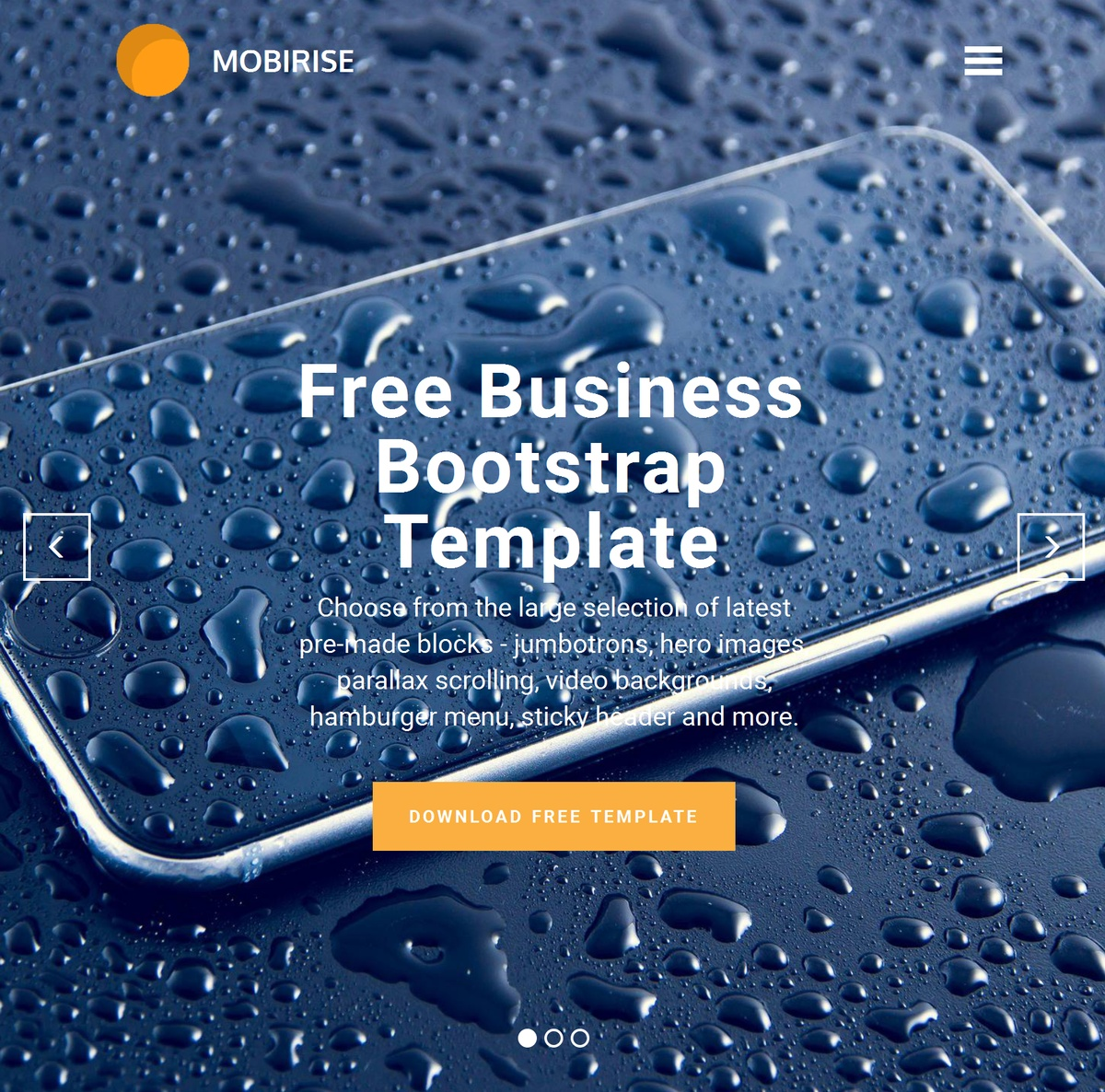 Simple Responsive Website Templates Themes Extensions
