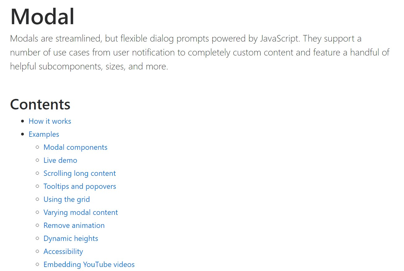 Bootstrap Modal Popup:  main  records