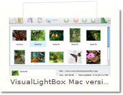 HTML Popup Window Mac version - Main Window